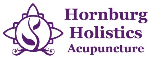 Hornburg holistics acupuncture logo purple